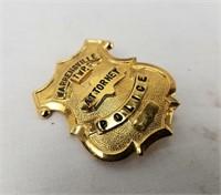 Mini Police Badge Attorney Ohio Warrensville