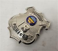 Northfield Village Police Badge #18 Ohio