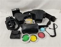 Konica Autoreflex A3 Camera W/ Accessories