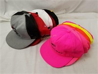 Lot Of Vintage Snap Back Hats Trucker Racing