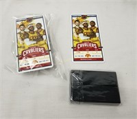 Lebron James Collectible Lot Car Tickets Sprite