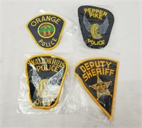 Lot Of Police Patches Ohio & Pa Sheriff