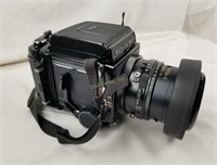 Mamiya Rb67 Pro Medium Format Camera W/ Extras Bag