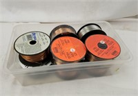 8 Spools Of Mig Welding Wire Different Alloy Size