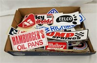 Large Lot Of Drag Racing Stickers Nice Variety