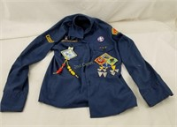 Large Lot Of 1970's Racing Shirts & More Boy Scout