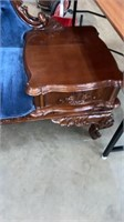 Antique Telephone Table / Bench