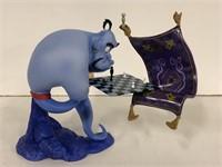 """WDCC """"I'm losing to a rug."""" Aladdin Genie w/box"""