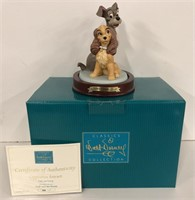 WDCC Opposites Attract Lady & Tramp, LTD 50th