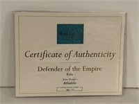 WDCC Defender of the Empire- Kida Atlantis