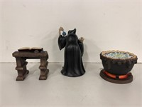 "WDCC ""Evil to the Core"" Witch, Cauldron and"