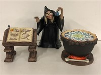 """WDCC """"Evil to the Core"""" Witch, Cauldron and"""