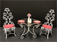 "WDCC ""A Magical Setting"" Table and Chairs from"