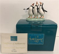 """WDCC """"Anything for You, Mary Poppins"""" Penguins"""