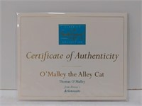 """WDCC """"O'Malley The Alley Cat"""" Thomas O'Malley"""