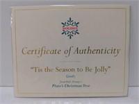"WDCC ""Tis the Season to Be Jolly"" Goofy w/box"