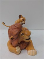 "WDCC ""Pals Forever."" Simba and Mufasa w/box from"
