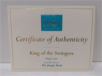 "WDCC ""King of the Swingers"" King Louie w/box from"