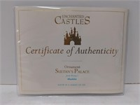 WDCC Sultan's Palace Ornament w/box from Disney's