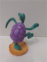 """WDCC """"Twistin' Turtle"""" Turtle w/box from Disney's"""