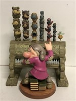 """WDCC """"Humph!"""" Grumpy and Pipe Organ from Snow"""