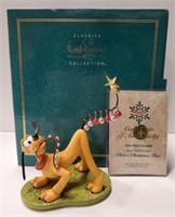 "WDCC Pluto's Christmas Tree ""Pluto Helps"