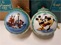 """WDCC """"Pluto's Christmas Tree"""" 1999 Ornament and"""