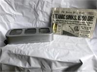Elgin Collectibles, Decor & Vintage Finds- TSA 486