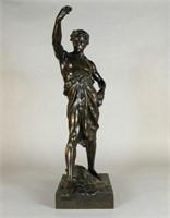 Emile Louis Picault (1833-1915)  bronze