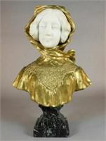 Affortunato Gory (1895-1925) bust