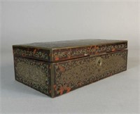 Boulle style humidor