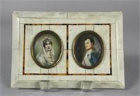 Josephine & Napoleon B. miniature