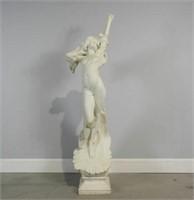 Giuseppe Gambogi (1862-1928) marble maiden