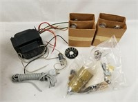 Electronic Lot Transformer Tubes Resisters & More