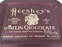 Hershey's Milk Chocolate Tray Sustaining Than Meat