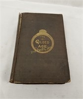 The Gilded Age By Mark Twain 1874 Book