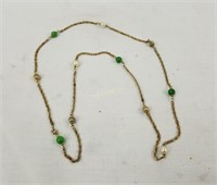Lot Of Costume Jewelry Necklaces