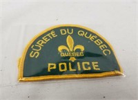 Quebec Police Badge & Replica Badge