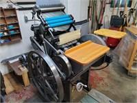 Chandler & Price 10X15 Letterpress - w/supplies