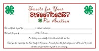 """Hand Co. 4-H """"Sweets for Your Sweetheart"""" Auction"""