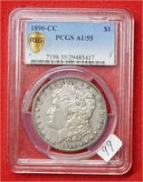 Weekly Coins & Currency Auction 2-5-21