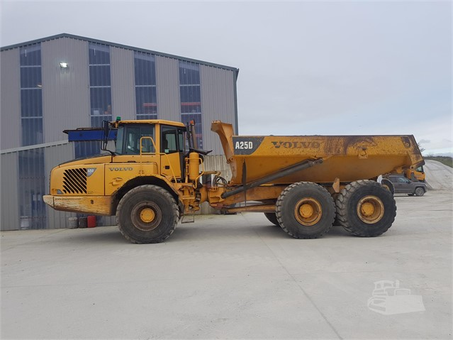 2006 VOLVO A25 at www.glenvalleyplant.co.uk