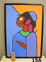 Norval Morrisseau Original Oil 1932-2007