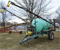500 Gallon Row Crop Sprayer