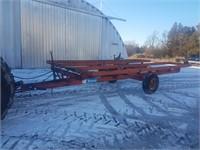 Turnco hydraulic bale wagon