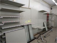 Keith Ace Hardware Store Shelving and Display Auction