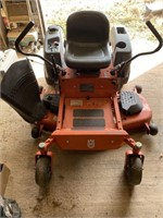 Husqvarna RZ5424 riding mower, 906 hrs, had to