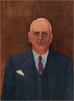Maurice E. Roberts, Self Portrait
