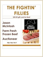 Fightin' Fillies, Relay For Life Fundraiser Auction