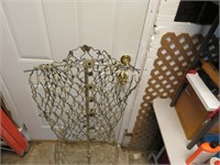 """Vintage Wire Dress Form & Stand 51"""" tall"""